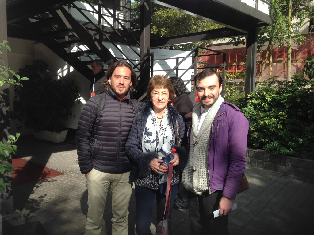 Lic. Santiago Flaherty, Lic. María Teresa Herrera y el siempre recordado Lic. Digadiel Rojas